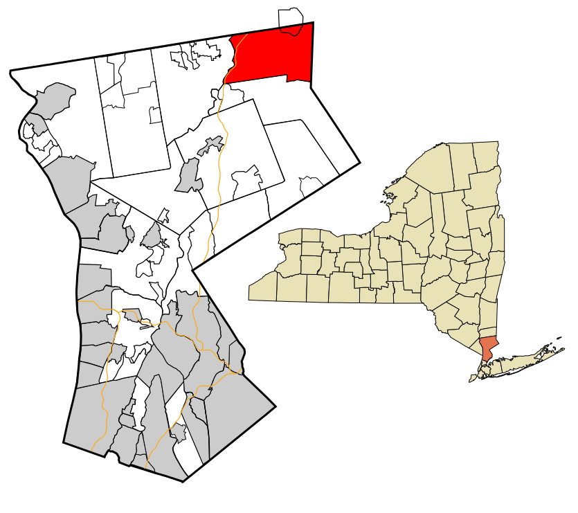 Location of North Salem, New York